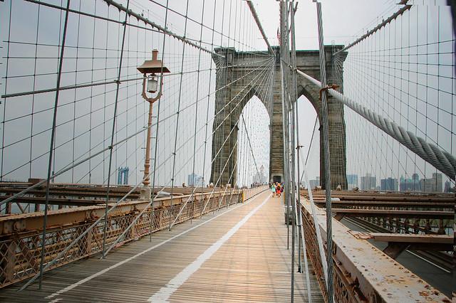 Brooklyn Bridge  Looking East by lucas_roberts426