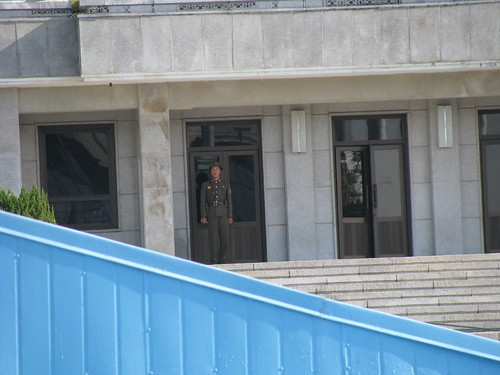 Korean DMZ - North Korean Soldier
