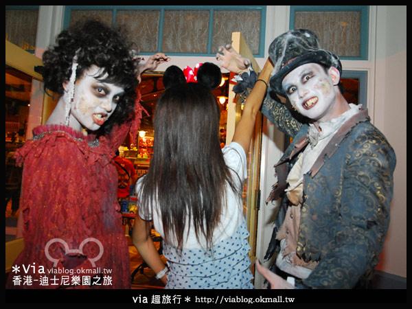 【香港旅遊】跟著via玩香港(2)~迪士尼萬聖節夜間遊行超精彩!31
