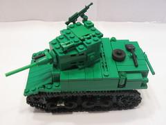 "Green Army Men M3A1 Stuart (""Rumrunner"") Tags: men green army tank lego wwii stuart ww2 worldwar2 m3a1 brickmania"