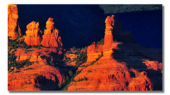 Sunset Light on Red Rock Country (Bill Gracey 15 Million Views) Tags: sunset arizona shapes sedona monuments formations pinnacles eveninglight magiclight redrockcountry abigfave