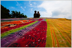 All the hues of heaven [..Narayanganj, Bangladesh..] (Catch the dream) Tags: bridge sky childhood clouds children concrete chat friendship duo merriment joy paving conversation quilts bliss bangladesh slope endless kantha lowangle vast puerile narayanganj kanchpur nokshikantha gettyimagesbangladeshq2