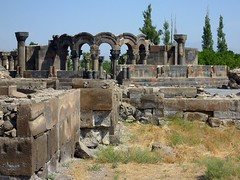 Ruins of the Zvartnots cathedral in Armenia (Frans.Sellies) Tags: world heritage church de la site cathedral unescoworldheritagesite unesco worldheritagesite list armenia mundial orthodox archeology unescoworldheritage sites worldheritage weltkulturerbe whs armenian patrimoine humanidad patrimonio armenianapostolic worldheritagelist welterbe armenien kulturerbe armenie patrimoniodelahumanidad unescowhs patrimoinemondial   hayastan zvartnots werelderfgoed vrldsarv  echmiatsin werelderfgoedlijst verdensarven  wolrdheritagelist  ph048       kulturwelterbe   p1250681