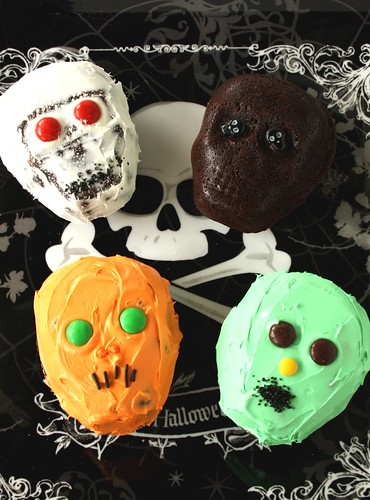 Halloween Chocolate Skull