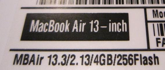 Maxed Out Apple Macbook Air