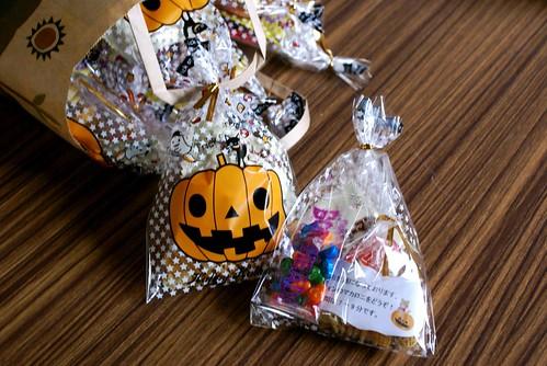 ハロウィンのお菓子2010