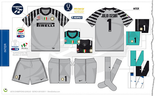 pretty nice d3bae 24543 Inter goalkeeper kit 2010/2011 - a photo on Flickriver