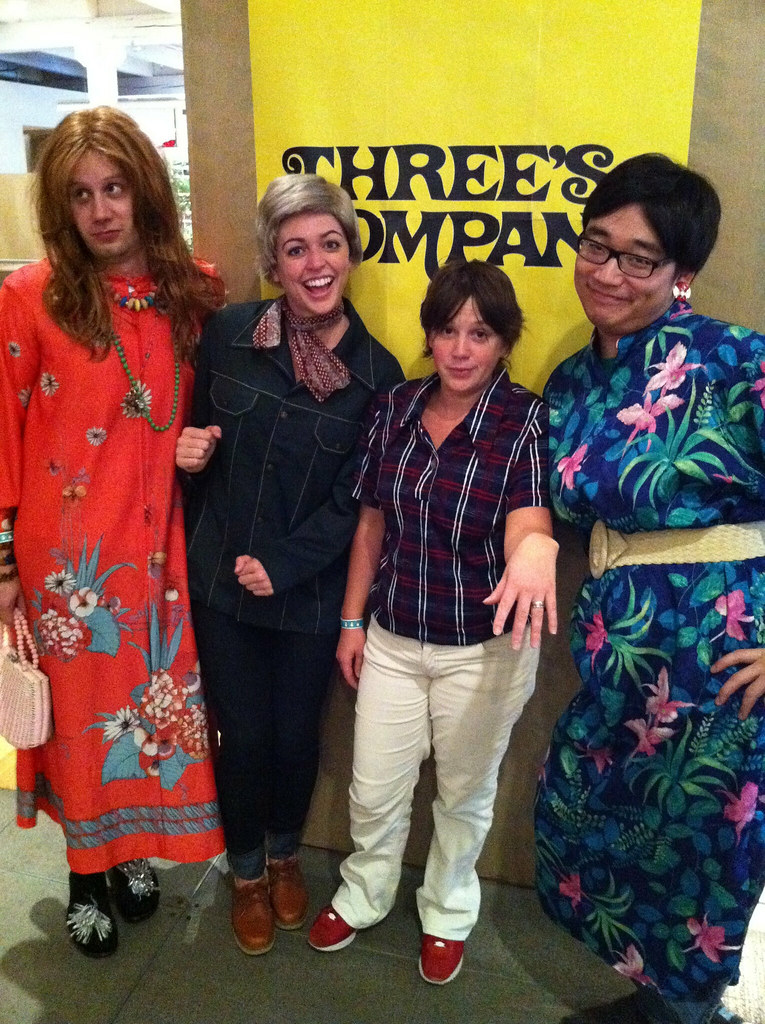 project management department as the cast of Three's Company