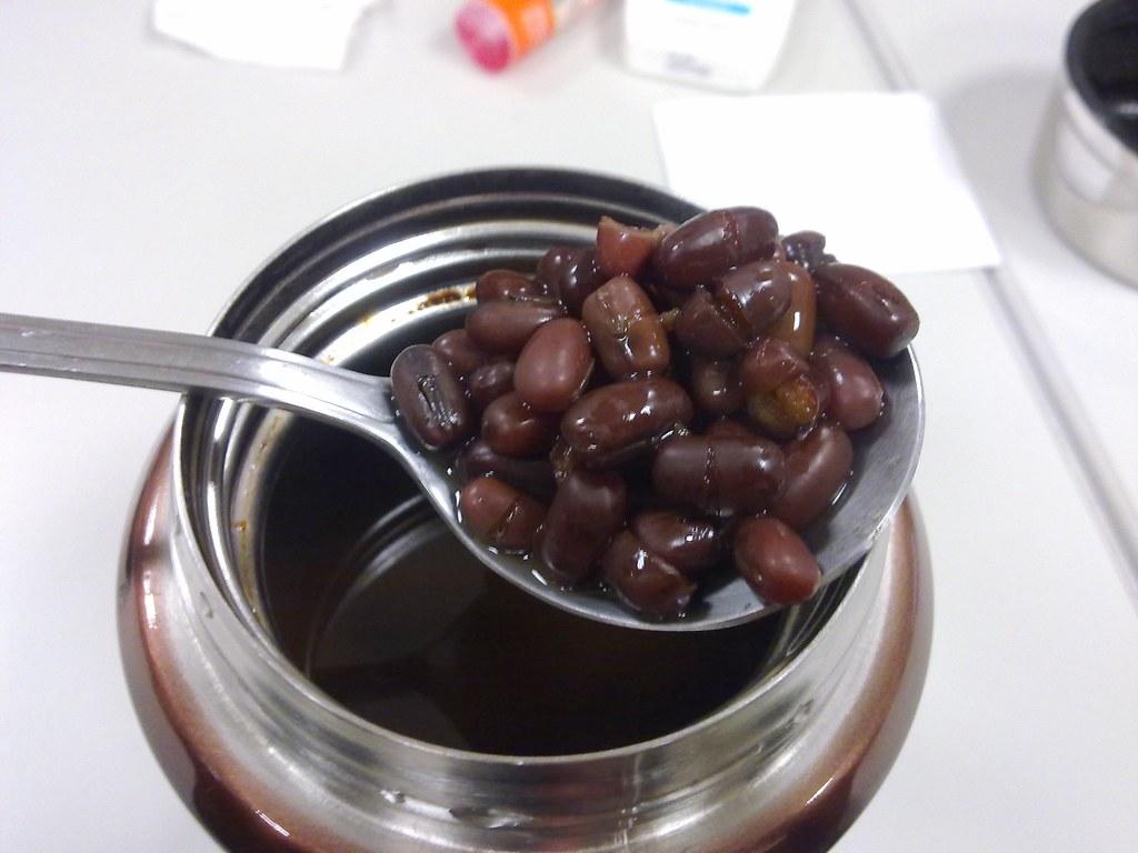 20101102-01悶燒罐做紅豆湯