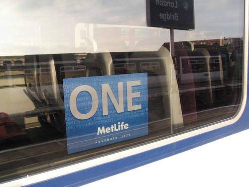 Branding, Private Charter Train - MetLife (UK)
