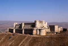 Krak Des Chevaliers (sillie_R) Tags: castle des syria chevalier krak
