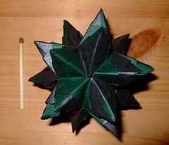 Bascetta Star (ebygomm) Tags: paper star origami modular bascetta