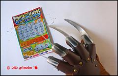 Halloween Lucky (gilmolm) Tags: halloween canon movie claw lucky horror nightmare fortuna freddykrueger artiglio grattaevinci canoneos450d canonefs1855mmf3556is canoneosdigitalrebelxsi canoneoskissx2 freedancephotographers turistapersempre