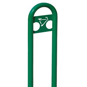 LBRCPING - Marquee Bike Rack with Inground Mount