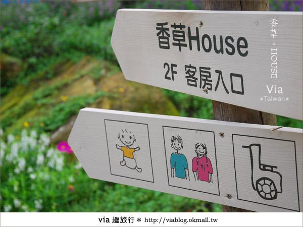 【新社】香草HOUSE~新社薰衣草森林最新溫暖系民宿(上)5