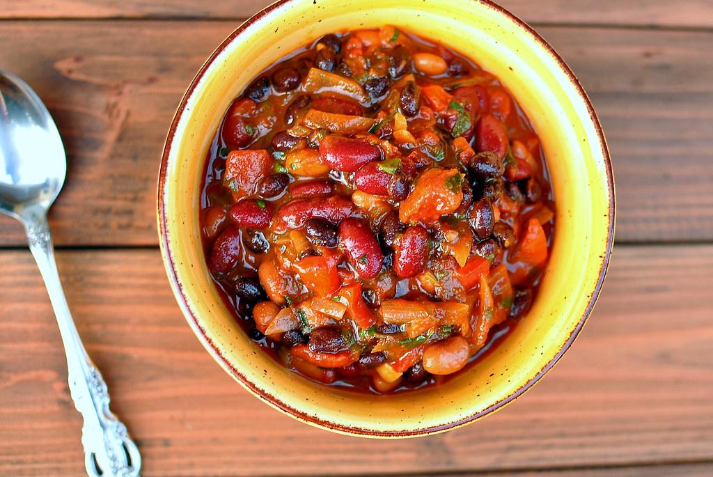 Vegetarian Chili Recipe Gastronomy