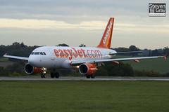 G-EZDU - 3735 - Easyjet - Airbus A319-111 - Luton - 101022 - Steven Gray - IMG_4027