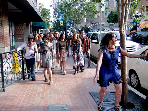 The Walking Dead on San Diego