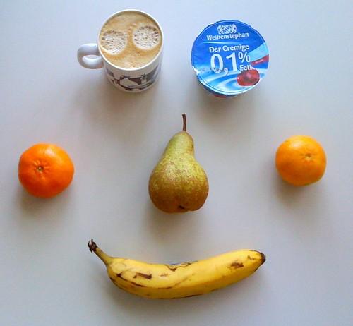 Der Cremige, Birne, Banane & Clementinen