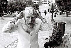 Nikon FE (Costas Lycavittos) Tags: bw film streetshots streetphotography athens greece nikonfe kodaktmax400 yellowfilter syntagma costaslycavittos nikkor28mmai