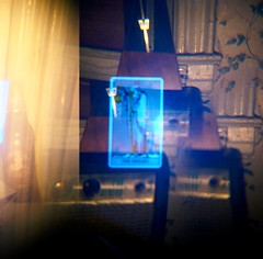 I Am A Hermit And Ecstacy Is My Game (M Hershey) Tags: 120 mediumformat holga eerie creepy multipleexposure psychedelic occult jonathanhalper