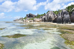 Anse Source D'Argent, La Digue, Seychelles Islands (pentlandpirate) Tags: blue sea coral relax islands sand paradise turquoise indianocean palm exotic granite tropical seychelles equator ladigue seychellen seychelle