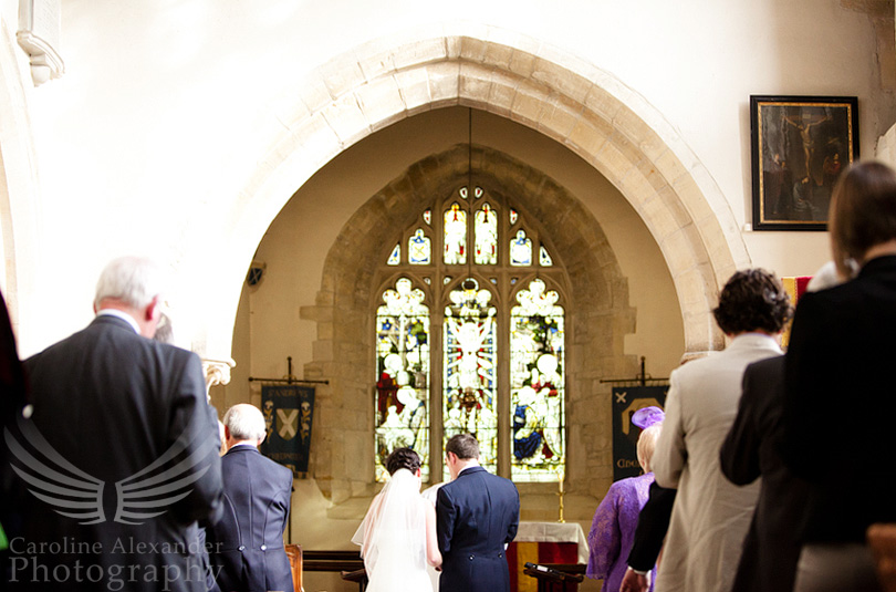 Cirencester Wedding Photographer Chedworth Church 12
