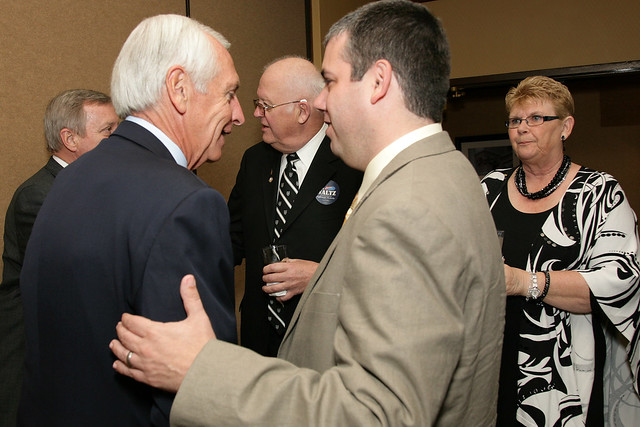 Governor Beshear and Congressional Candidate John Waltz