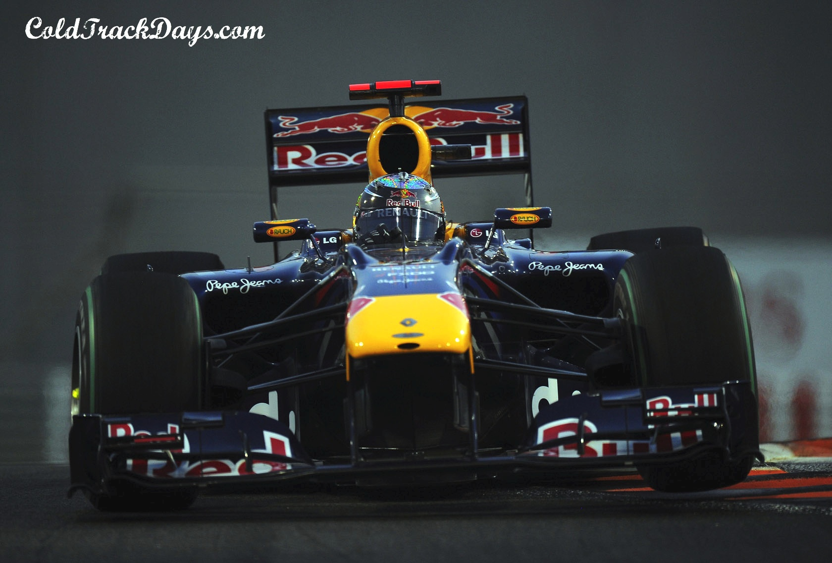 2010 ABU DHABI GRAND PRIX // RACE RESULTS