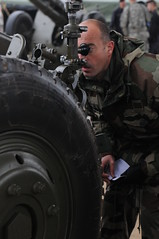 a good sight picture (U.S. Army Europe) Tags: french military artillery d30 hohenfels usareur jmrc