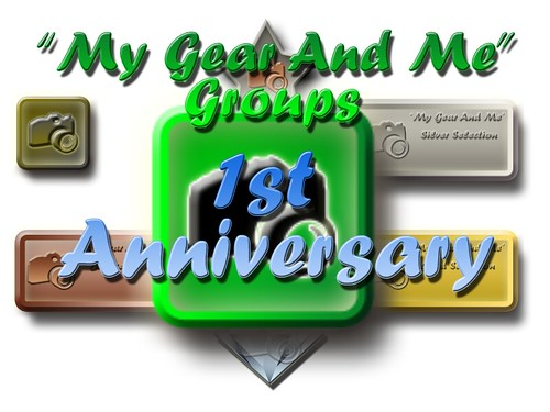 My Gear And Me - 1st Anniversary