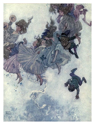 013-El duende de la montaña-Hans Andersen's fairy tales (1913)- William Heath Robinson