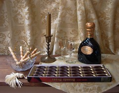 For Chocolate Lovers. (Esther Spektor - Thanks for 10+ millions views..) Tags: stilllife brown home glass bronze table golden bottle cookie candle candy artistic crystal box chocolate decorative curtain creative bowl vase tablecloth 1001nights candleholder everydaylife tassel liqueur coth bej pastfeaturedwinner selectbestfaforites