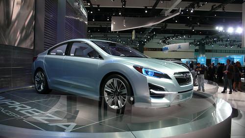 Subaru Impreza Concept, 2010 LA Auto Show