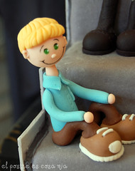 Modelado niño en azúcar