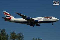 G-BNLO - 24057 - British Airways - Boeing 747-436 - Heathrow - 100617 - Steven Gray - IMG_4253