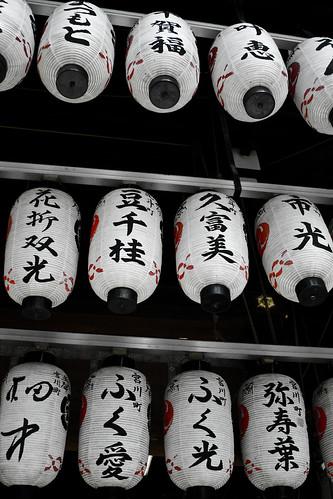 Lantern in Kyoto