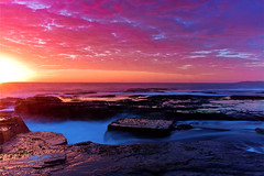 Hello Monday (goodbyebyesunday) Tags: longexposure seascape sunrise rocks flickr 1740mm hmb northnarrabeen nd8 gnd8 turimetta