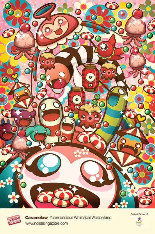 Caramelaw - Ilustracion