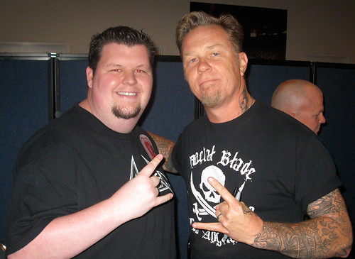 Meeting the one and only James Hetfield