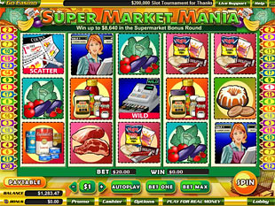 Supermarket slot game online review