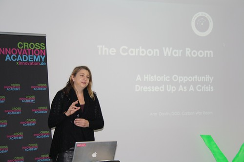 Carbon War Room - Ann Davlin