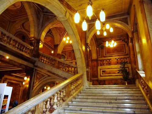 Inside Glasgow City Chambers