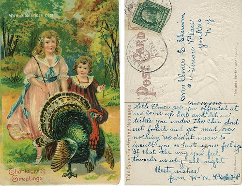 Thanksgiving Greetings (1910)