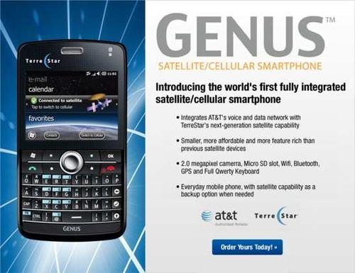 terrestar GENUS Satellite