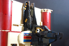 Anubis WIP (Catsy [CC]) Tags: statue lego wip egyptian diorama anubis moc catsy pharaohsquest