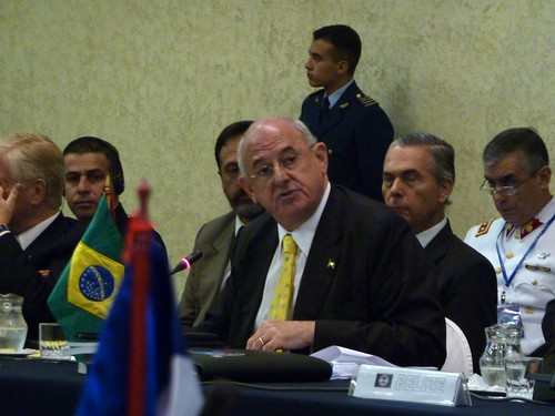 Defense Minister of Brazil Nelson Jobin