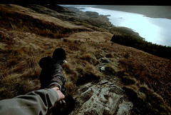 Way down......... (Nicolas Valentin) Tags: mountain scotland ben lochlomond hillwalking ecosse