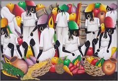Caribbean Pop Art (Ginas Pics) Tags: art kitchen painting colorful kunst popart getty dining caribbean 1001nights artes popularart santodomingo karibik volkskunst 2013 caribbeanart mywinners height350 tropicaldelights caribbic