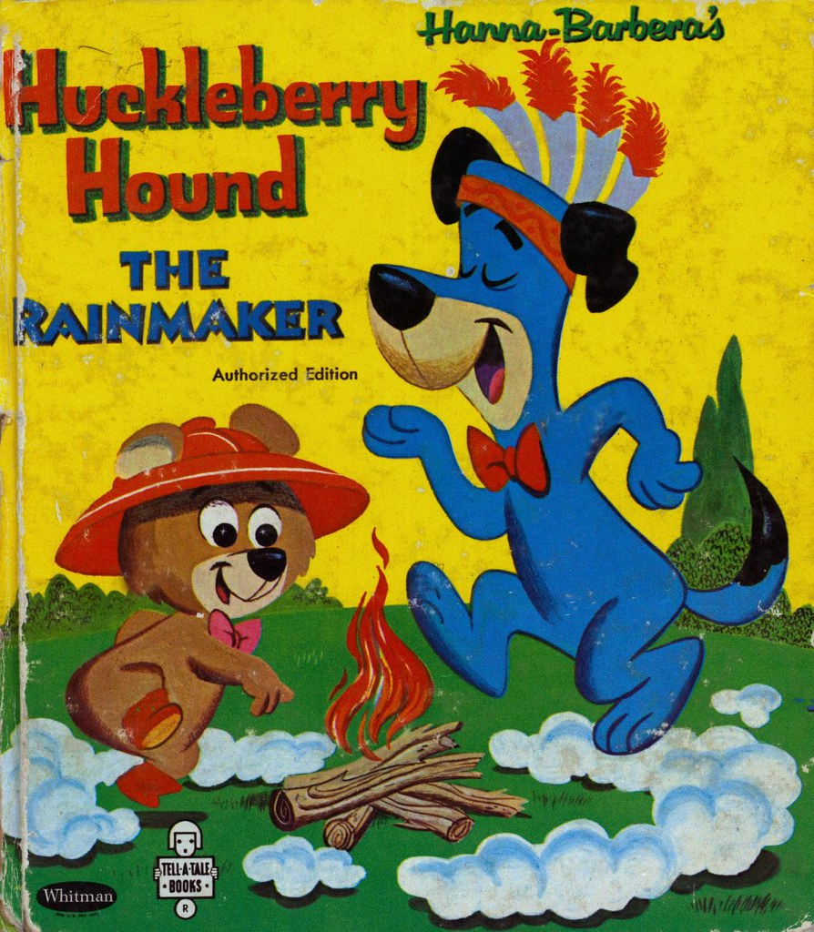 Huckleberry Hound the Rainmaker001